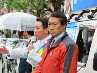 171019総選挙街頭@泉涌寺道 (8)