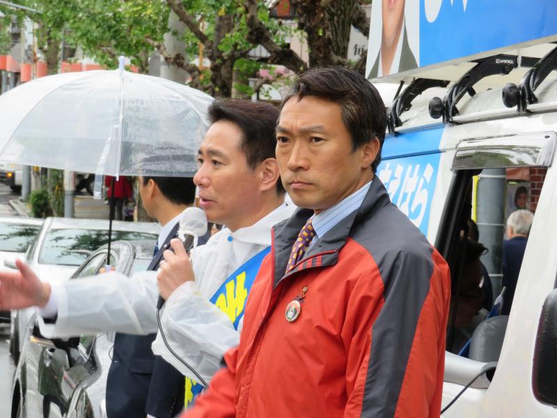171019総選挙街頭@泉涌寺道 (9)