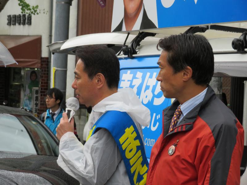 171019総選挙街頭@泉涌寺道 (3)